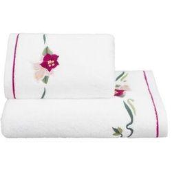 Ręcznik LILY 50x100cm Biały, 8077YR