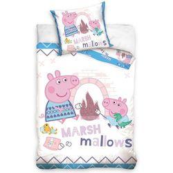 Tip trade dziecięca pościel bawełniana do łóżeczka świnka, 100 x 135 cm, 40 x 60 cm marki 4home