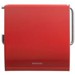 - classic uchwyt na papier toaletowy, czerwony marki Brabantia
