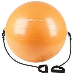 Gimnastyczny piłka z expanderem  energiczny 65 cm włącznie pompy, marki Spokey