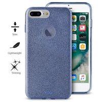 glitter shine cover - etui iphone 7 plus / iphone 6s plus / iphone 6 plus (blue) limited edition marki Puro
