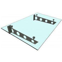 Metal-gum Daszek zadaszenie szklane drzwi 150 x 90 ii