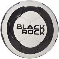 Piłka nożna AXER SPORT Black Rock Czarno-biały (rozmiar 5)