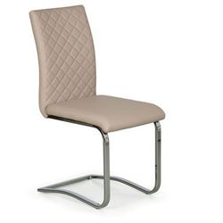 Krzesło konferencyjne, kuchenne RITZ, beżowa, 4 szt.