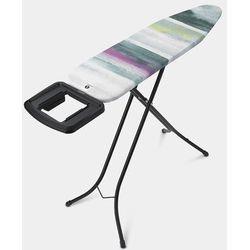 Brabantia - deska do prasowania rozmiar 110 x 30 cm, rama czarna 22mm - morning breeze - wielokolorowy (8710755134180)