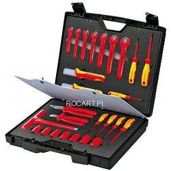 Zestaw narzędzi Knipex Walizka na narzędzia ze sprzętem izolowanym 26 szt. 98 99 12