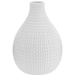 Ceramiczny wazon na kwiaty, dekoracje - wysoki, 26 x Ø 19 cm (8719202117318)