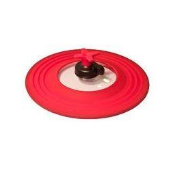 Pavoni Pav -cope przykrywka z regulacją,16-24 cm,czerwona