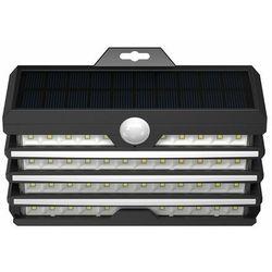 Baseus 1x zewnętrzna ogrodowa uliczna solarna lampa led z czujnikiem ruchu czarny (dgnen-c01)