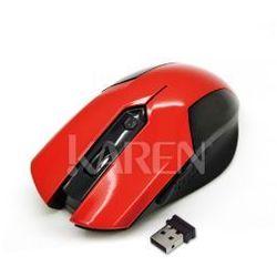Vakoss TM-651UR Mysz bezprzewodowa czerwona, kup u jednego z partnerów
