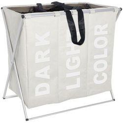 Wenko Pojemnik na pranie trio beige - aż 130 litrów, (4008838344286)