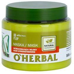 O'Herbal Acorus Calamus maseczka wzmacniająca do włosów delikatnych z kategorii Odżywianie włosów