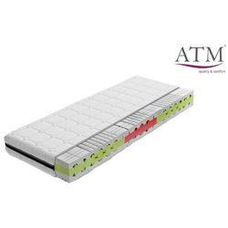 cortina top - materac piankowy, rozmiar - 140x200, twardość - średni, pokrowiec - white wyprzedaż, wysyłka gratis marki Atm