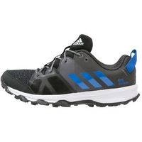 adidas Performance KANADIA 8 Obuwie do biegania Szlak core black/blue/trace grey (4057283937994)
