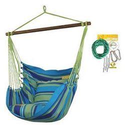Fotel hamakowy HC10 z zestawem montażowym, Niebieski zhc10-242-koala/fix/ch1