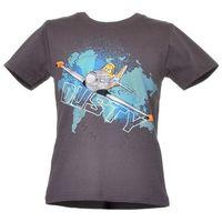 T-shirt z wizerunkiem bohaterów bajki Planes Samoloty - Kolorowy ||Grafitowy, kolor wielokolorowy