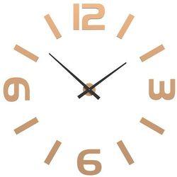 Zegar ścienny Donatello CalleaDesign jasnobrzoskwiniowy, kolor różowy