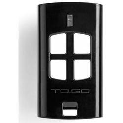 Pilot  togo4 czterokanałowy z kodem zmiennym 433,92 mhz wyprodukowany przez Beninca
