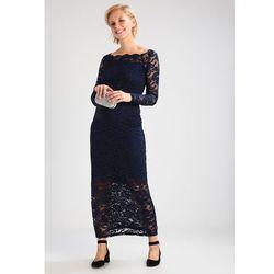 MAMALICIOUS MLMIVANA Suknia balowa navy blazer - produkt z kategorii- Sukienki ciążowe