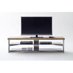 Szafka RTV FABIENNE drewno olejowane 180/40/40 cm