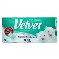 Papier toaletowy Velvet XXL seledynowy 8 rolek