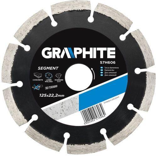 Tarcza do cięcia GRAPHITE 57H610 230 x 22.2 mm diamentowa + DARMOWA DOSTAWA! (tarcza do cięcia) od ELECTRO.pl