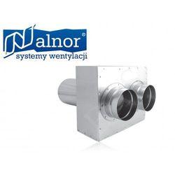 Puszka rozdzielcza przedłużana prosta 2x75mm/125mm (FLX-PRO-PL-75-2) (rekuperator)