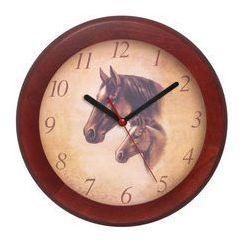 Zegar drewniany rondo koniki, ATW301KZ