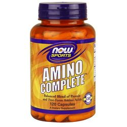 Now Foods Amino Complete 120 kaps. (aminokwasy)