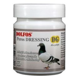dg peros dressing - tabletki wielowitaminowe dla gołębi z dodatkiem metioniny 50 tabl. wyprodukowany przez Dolfos
