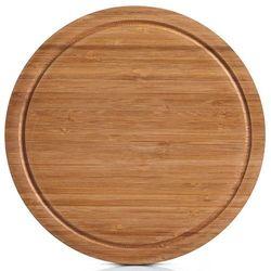 Bambusowa, okrągła deska do krojenia, marki Zeller