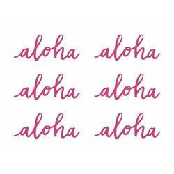 "Partydeco ""dekoracje papierowe aloha, fuksja, 5x12,5cm (1 op. / 6 szt.)"""