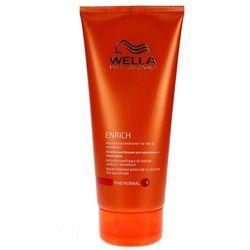 Wella Enrich Moisturising - odżywka nawilżająca do włosów cienkich 200ml - produkt z kategorii- Odżywianie włosów