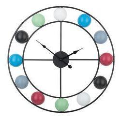 Beliani Zegar ścienny kolorowy reiden
