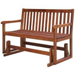 ławka, huśtawka ogrodowa z drewna akacjowego marki Vidaxl