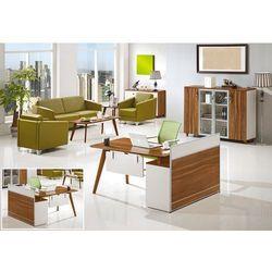 Nowoczesne biurko z pomocnikiem EVOLUTIO A909