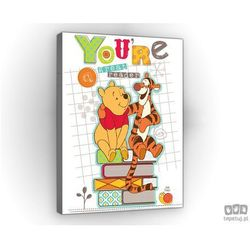 Obraz kubuś puchatek z tygryskiem ppd540 marki Consalnet