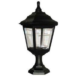 Zewnętrzna LAMPA stojąca KERRY PED/PORCH Elstead klasyczna OPRAWA ogrodowa SŁUPEK IP44 outdoor latarnia czarny, kup u jednego z partnerów