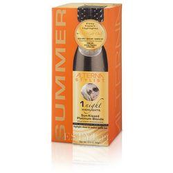 1 night highlights sun kissed platinium blonde jednodniowe pasemka: platynowy blond 93g od producenta Alterna
