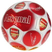 Mini piłka nożna z podpisami ARSENAL LONDYN roz 1