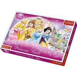 Trefl, Księżniczki Disneya, Princess Ball, gra planszowa, towar z kategorii: Gry planszowe