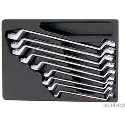 King tony Zestaw kluczy oczkowych odgiętych 75 9cz. 8 - 26mm, wkład do wózka 9-1709mr (4710591950290)