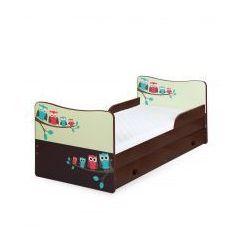 Klupś  łóżko timo sowy