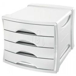 Esselte Pojemnik z 4 szufladami europost vivida biały