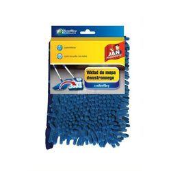 JAN Niezbędny Mop dwustronny z mikrofibry wkład (8571009814) Szybka dostawa! Darmowy odbiór w 21 miastach! (5900536273167)