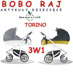 BEBETTO TORINO + Fotelik MAXI COSI PEBBLE