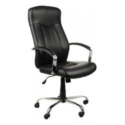 Stema - zh Fotel biurowy gabinetowy zh-9152/t/pu/czarny