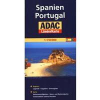 Hiszpania Portugalia mapa 1:750 000 ADAC, książka z kategorii Mapy i atlasy