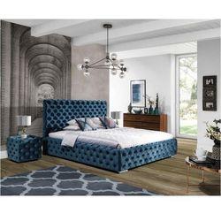 New elegance Łóżko tapicerowane havana z pojemnikiem na pościel 200x200 1 grupa z pojemnikiem