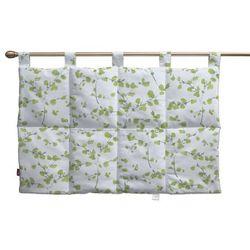 Dekoria Wezgłowie na szelkach, zielone listki na białym tle, 90 x 67 cm, Aquarelle